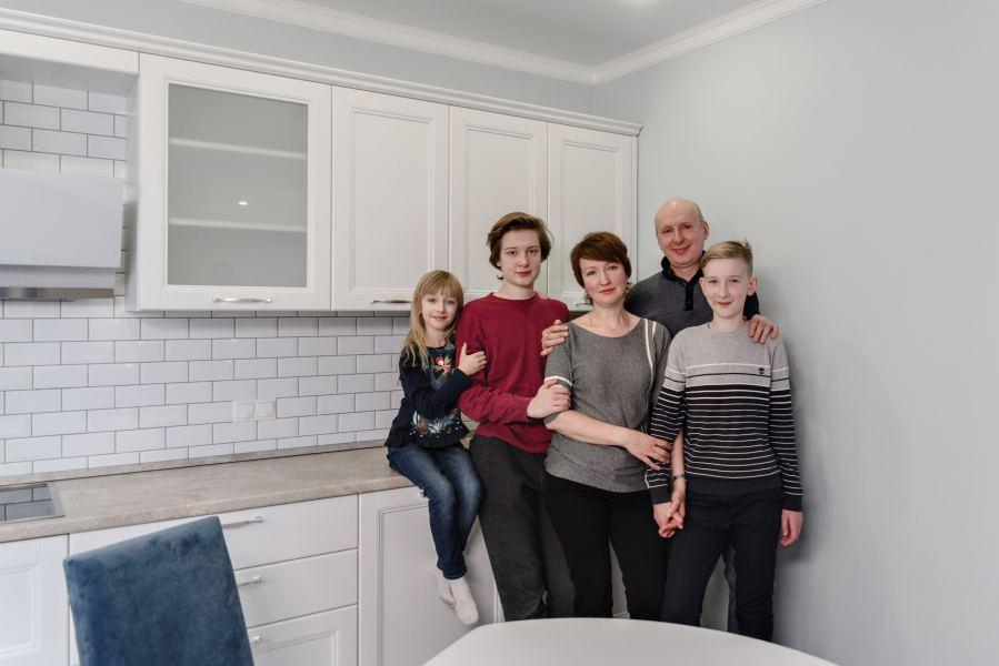 Ремонт #452 Пятикомнатная квартира для большой семьи в ЖК«Гринада»